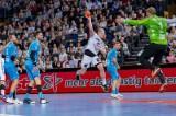 Kiel, 6. Dezember 2018. In der DKB Handball-Bundesliga trifft der THW Kiel (weiß) auf den TVB 1898 Stuttgart (blau).