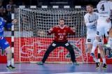 Kiel, 13. Februar 2019. Der THW Kiel (weiß) trifft in der Gruppenphase des EHF-Cups auf KS Azoty-Pulawy (Polen/blau).