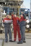 Raffinerie Mitarbeiter